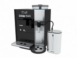 Siemens coffee machine 3d preview