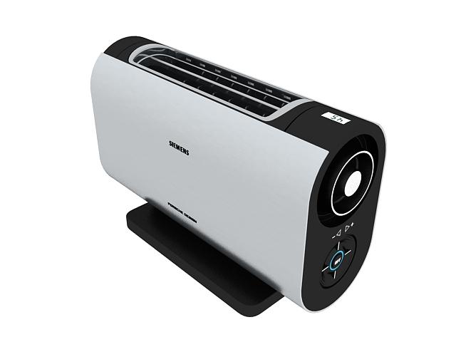 Siemens toaster 3d rendering