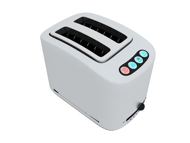 Zelmer toaster 3d rendering