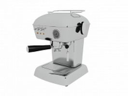 Ascaso coffee machine 3d preview