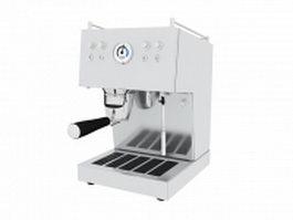 Ascaso Espresso Machine 3d model preview