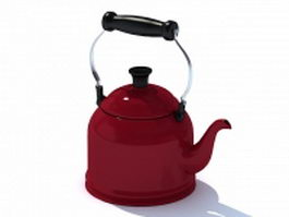Stovetop kettle 3d preview