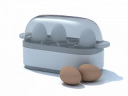 Egg boiler 3d preview
