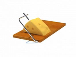 Butter cutter slicer 3d model preview