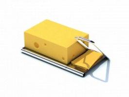 Butter cutter tool 3d model preview