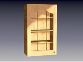 Cupboard for kitchen 3d preview