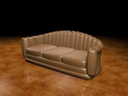 Victorian couch 3d preview