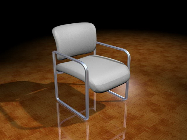 Conference room chairs 3d rendering