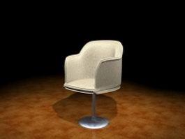 Swivel tub chair 3d preview