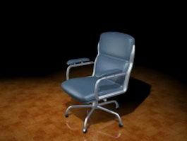Ergonomic task chair 3d model preview