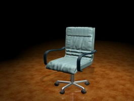 Ergonomic task chair 3d preview