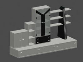 Display shelf 3d preview