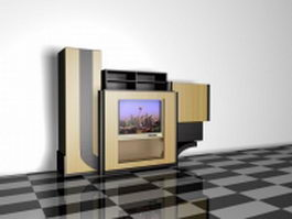 Built in tv cabinets 3d preview