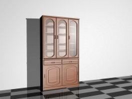 Cupboard furniture 3d preview
