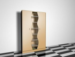 Modern storage cabinet 3d preview