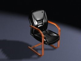 Executive office cantilever chair 3d preview