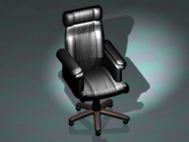 Executive leather chair 3d preview
