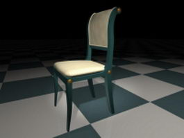 Classic modern dining chair 3d preview