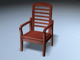 Redwood armchair 3d preview