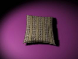 Throw pillow for couch 3d preview