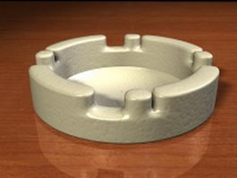 Ceramic ashtray 3d preview