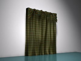 ceiling to floor curtains 3d preview