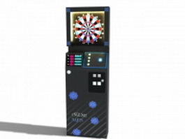 English mark dart machine 3d preview