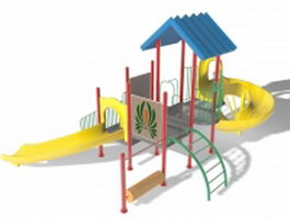 Backyard discovery playset 3d model preview