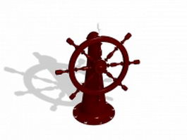 Decorative fire hydrant 3d preview