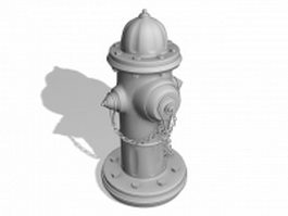 Fire hydrant design 3d preview