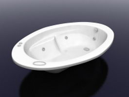 Children bathtub 3d preview
