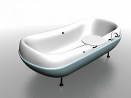 Outdoor baby bathtub 3d preview