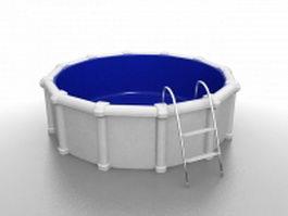 Outdoor bathtub 3d preview
