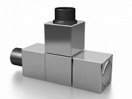 Radiator valve 3d preview