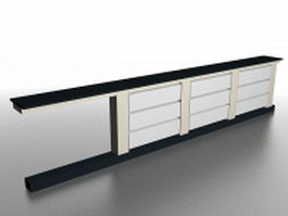 Radiator covers 3d model preview