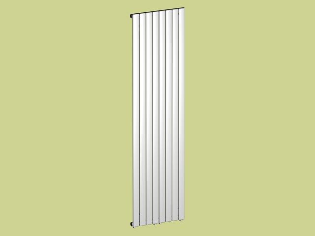 Flat panel radiator 3d rendering