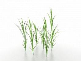 Blades of grass 3d preview