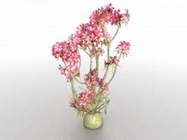 Bonsai flower tree 3d preview