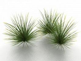 Desert grass 3d preview