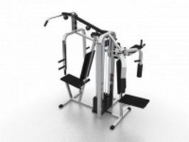 Strength training equipment 3d model preview