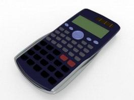 Scientific calculator 3d preview