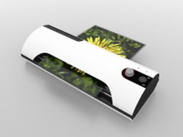 Photo printer 3d preview