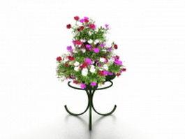 Flower arrangement stand 3d model preview