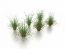 Grass weeds 3d preview