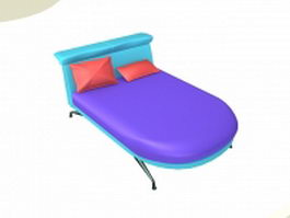 Modern daybed 3d preview