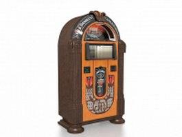 Jack Daniels vending machine 3d model preview