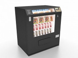 Mini snack machine 3d preview