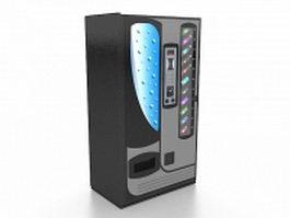 Soda vending machine 3d preview