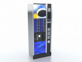 Coffee vending machine 3d preview