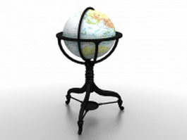 Replogle globe 3d preview